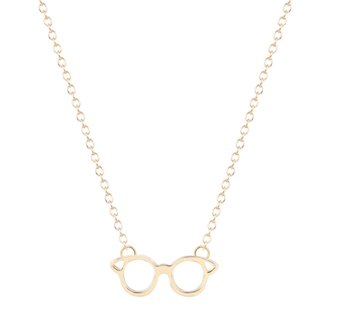 HP Glasses Necklace Gold 1