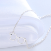 HP Glasses Necklace Silver 1