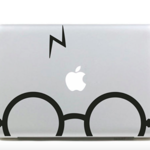 HP Glasses & Scar Macbook Sticker