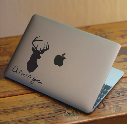 HP Macbook Always doe Sticker 2