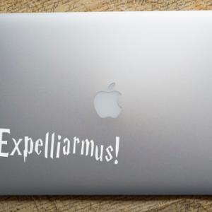 HP Macbook Expelliarmus Sticker 2