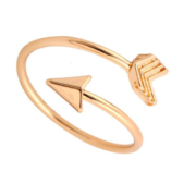 THG Arrow Gold Ring