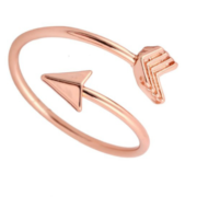 THG Arrow Rose Gold Ring