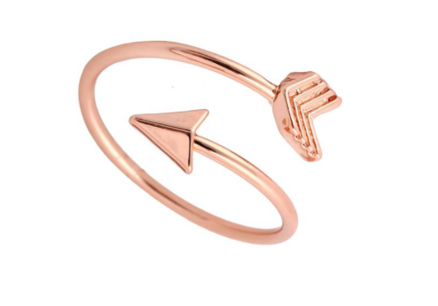 THG Arrow Rose Gold Ring