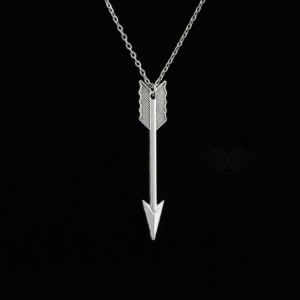 THG Arrow Silver Pendant