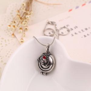 TVD Elena's Silver Locket Pendant
