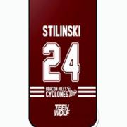 TW Stilinski 24 Becan Hills iPhone case
