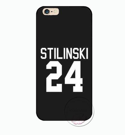 TW Stilinski 24 black iPhone case