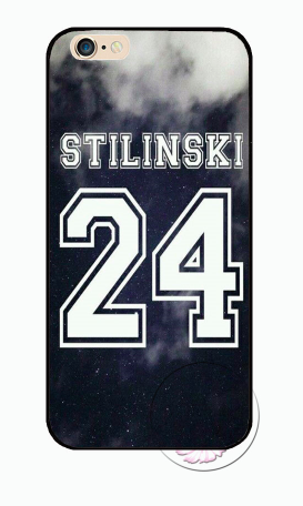 TW Stilinski 24 cloud iPhone case