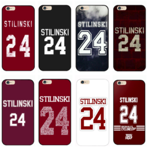 TW Stilinski 24 iPhone cases