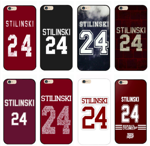 TW Stilinski 24 iPhone cases