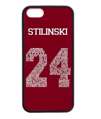 TW Stilinski 24 maroon iPhone case