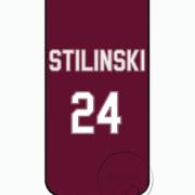 TW Stilinski 24 purple iPhone case